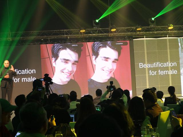 OPPO F5 specs Maj Valencia Makeup in Manila
