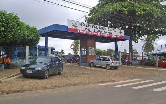 Hospital de Ji-Paraná recebe obra de ampliação orçada em R$ 847 mil reais