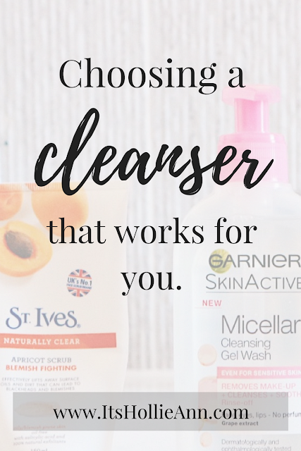 Choosing the best cleanser for your skin