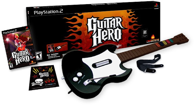 cara cheat guitar hero ps2