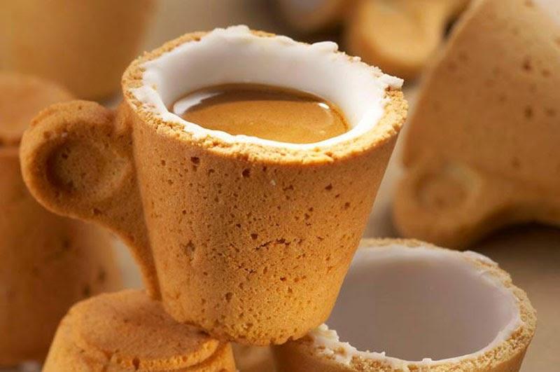 vajilla comestible: Cookie Cup de Sardi Innovación