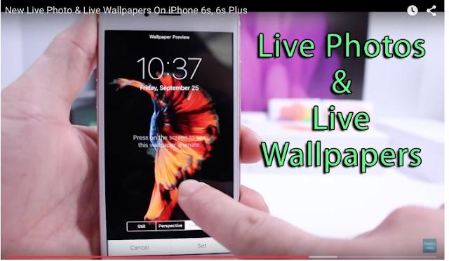 Cara menambahkan Wallpaper Animasi baru di iPhone