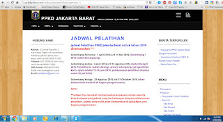 Pusat Pelatihan Kerja Daerah Jakarta Barat Buka Kembali Pelatihan Gratis !