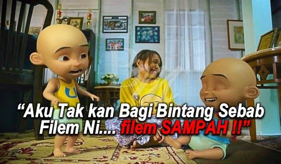 Mak Bapak Mengamuk Tengok Filem Upin Ipin - 'FILEM SAMPAH !'
