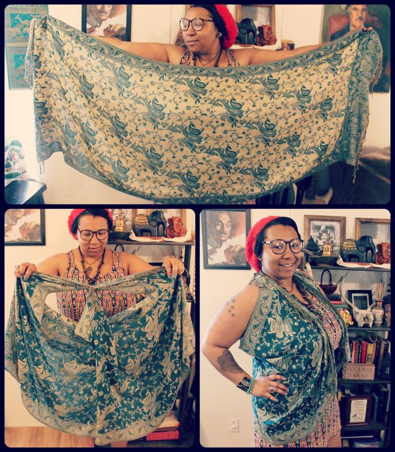 bb77faa2d Quirky Bohemian Mama - A Bohemian Mom Blog  Easy DIY no-sew pashmina ...