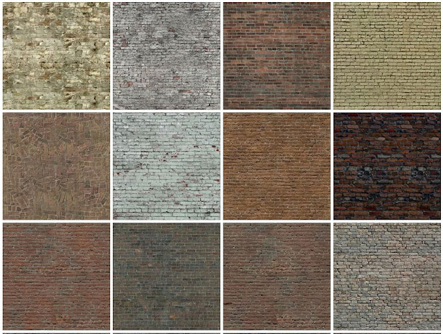tileable texture old briks #2a