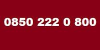 0850 222 0 800 Telefon Numarası Kimin