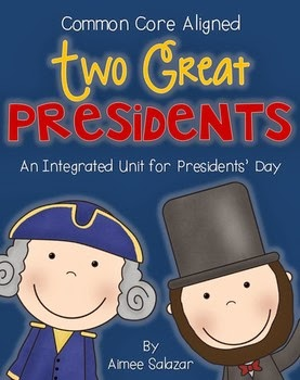 http://www.teacherspayteachers.com/Product/Two-Great-Presidents-An-Integrated-Unit-for-Presidents-Day-CCSS-Aligned-1051486