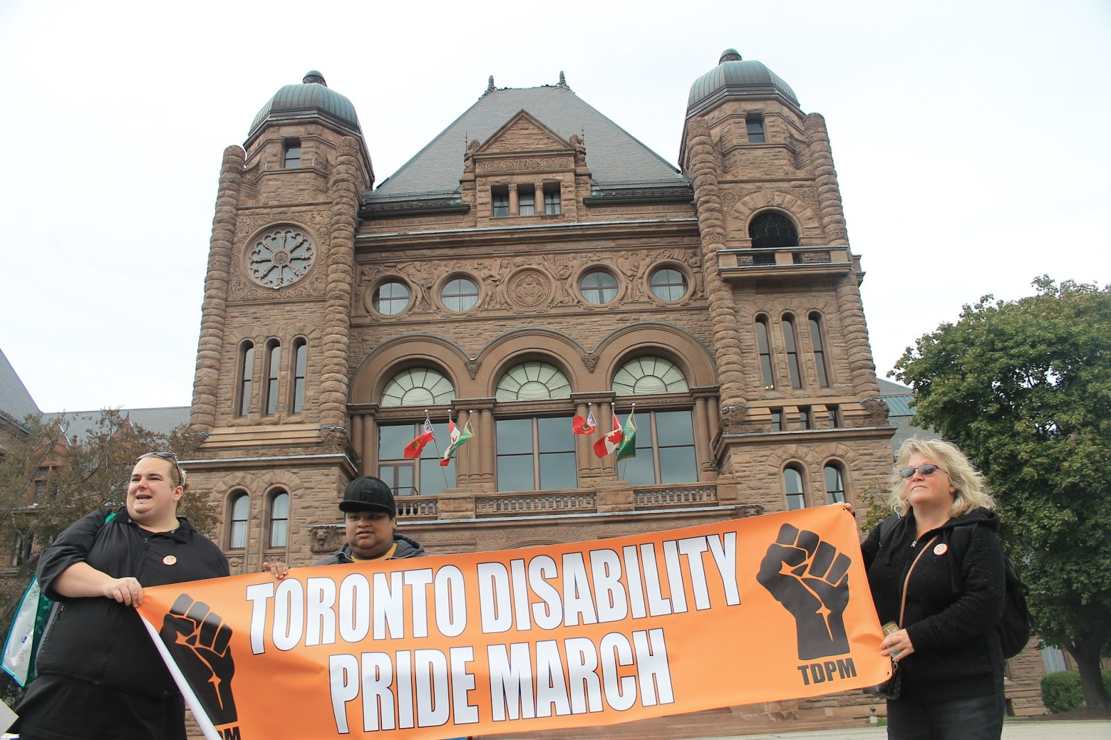 your heart s on the left photo essay toronto disability pride photo essay toronto disability pride
