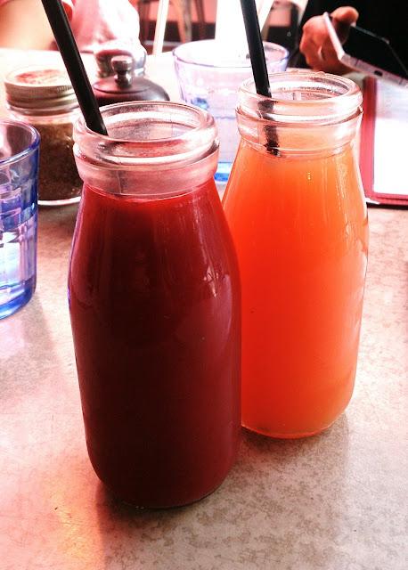 Gramercy Bistro, Prahran, fresh juices