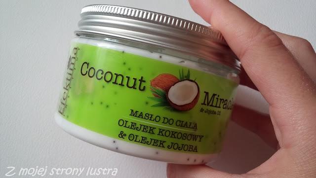 efektima masło do ciała olejek kokosowy olejek jojoba