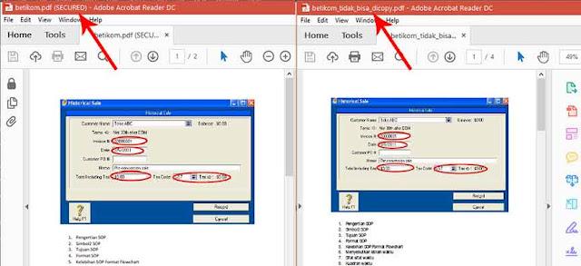 Hasil membuka proteksi file pdf