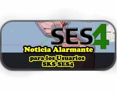 NOTICIA PARA USUÁRIOS DO SATÉLITE SES4 22W - 31-03-2016
