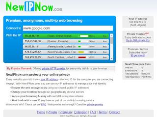 التصفح المخفي والآمن مع NewIPnow