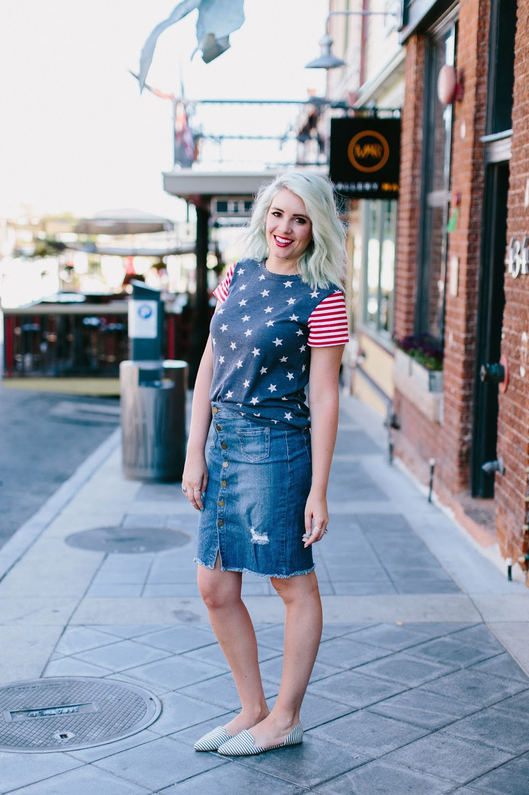 Flybird Apparel, Utah Fashion Blogger, America Tee