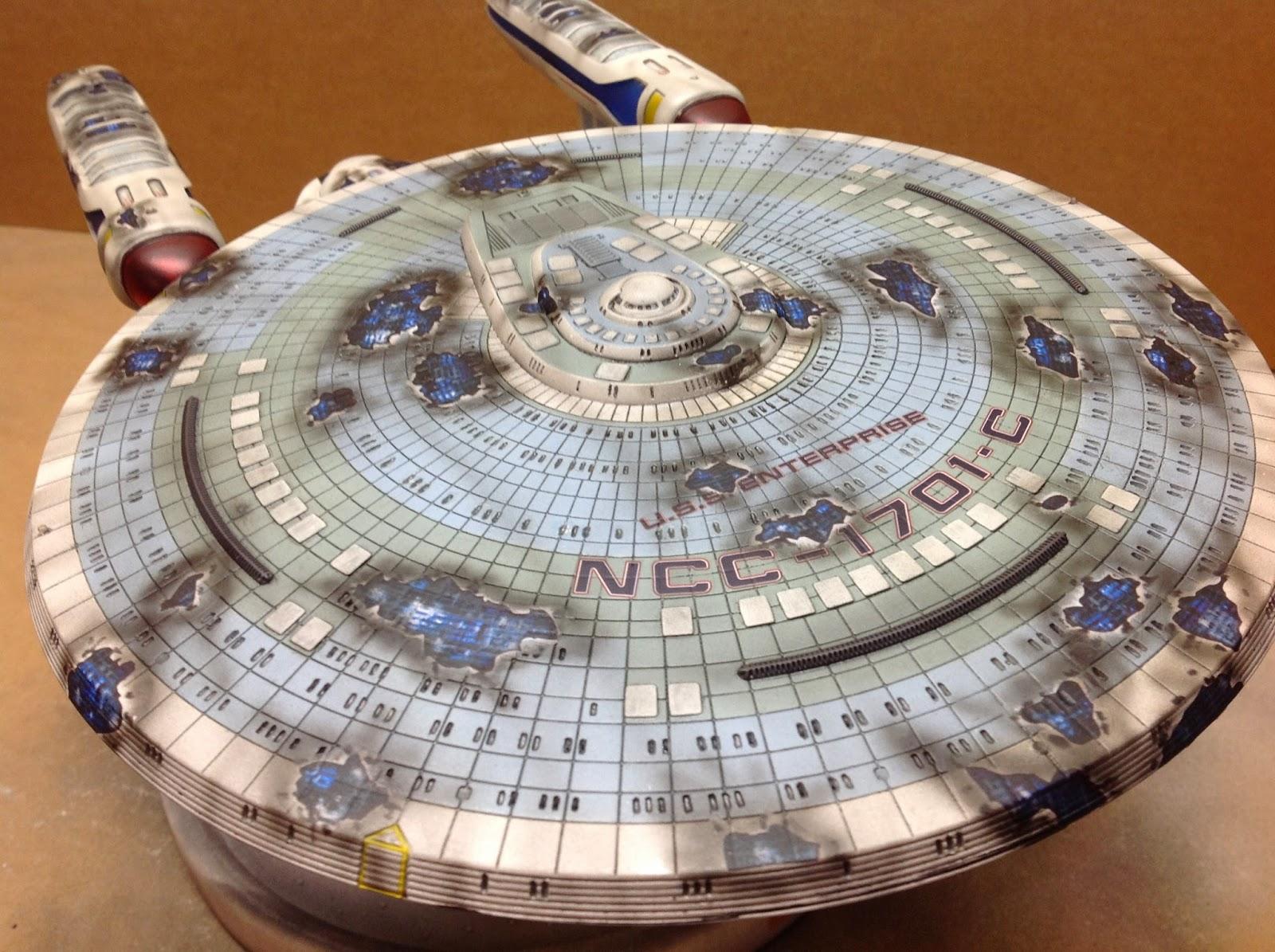 Star Trek Scale Model