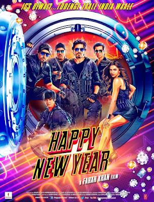 Happy New Year 2014 Hindi BRRip 480p 550mb