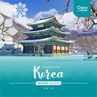 Paket Tour Korea Winter Season 2018