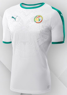 Image result for senegal world cup home jersey