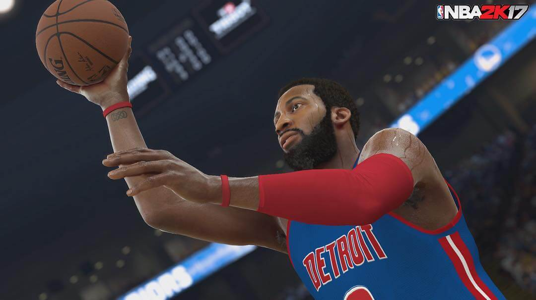 NBA 2k17 Screenshot : Andre Drummond