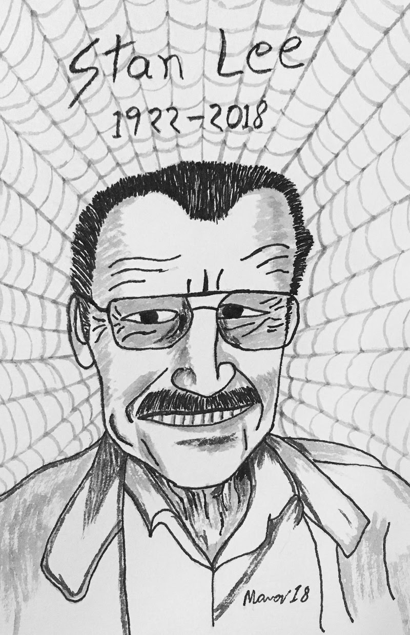 R.I.P. Stan Lee... The legendary man behind marvel comics.