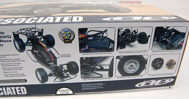 Team Associated SC10 kit box