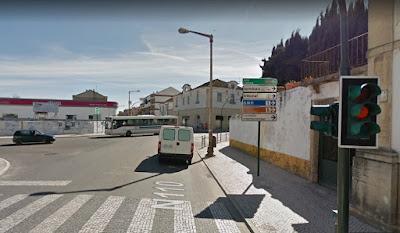 Resultado de imagem para imagens do cruzamento avenida nun'alvares, torres pinheiro, combatentes da grande guerra, em tomar