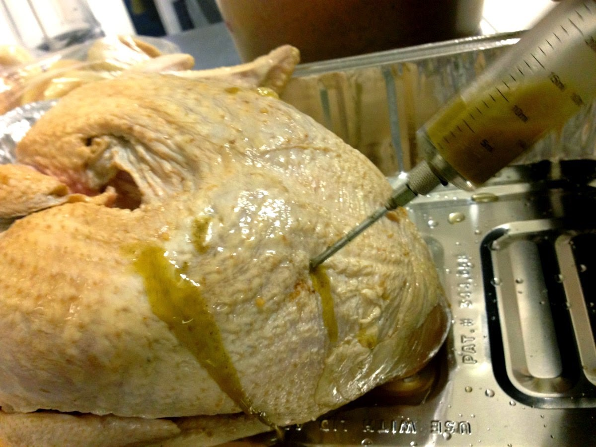Injecting the Turkey