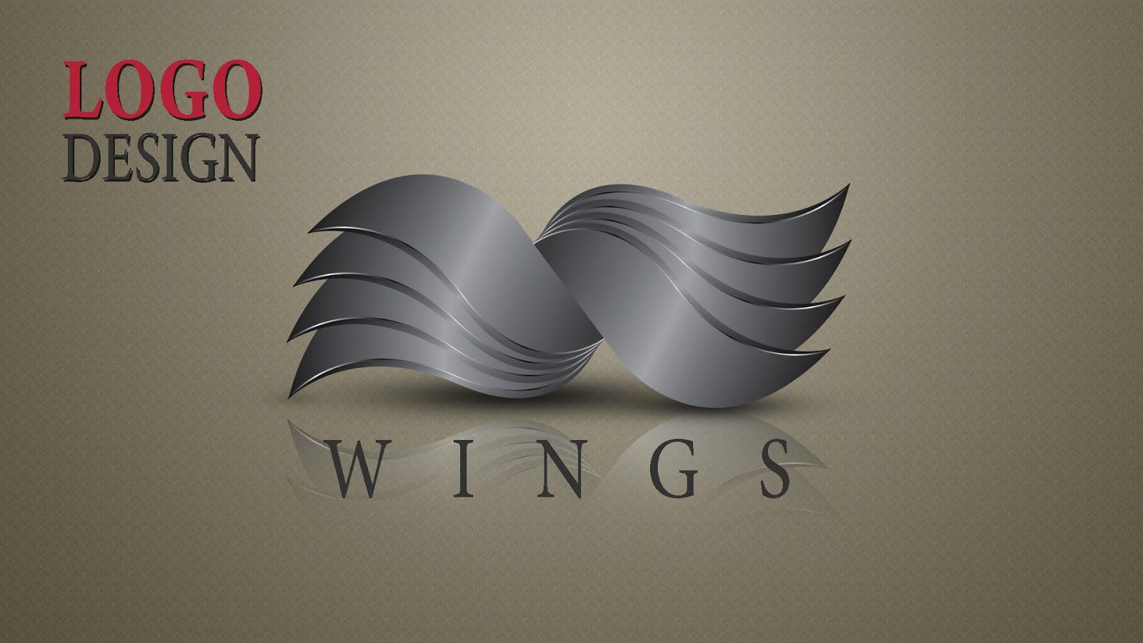 3d logo design tutorial in illustrator and Photoshop - sahak graphics