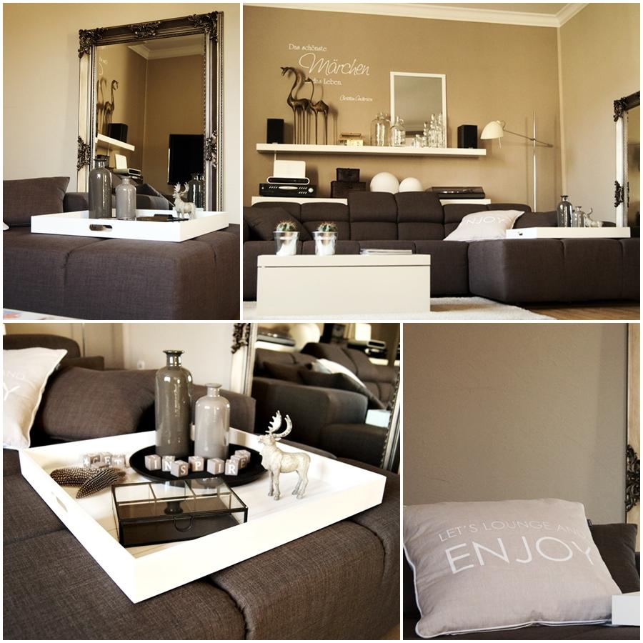Wohnen neue deko im wohnzimmer for Dekoration wohnzimmer modern
