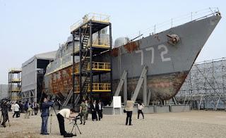 Bangkai  Kapal Cheonan