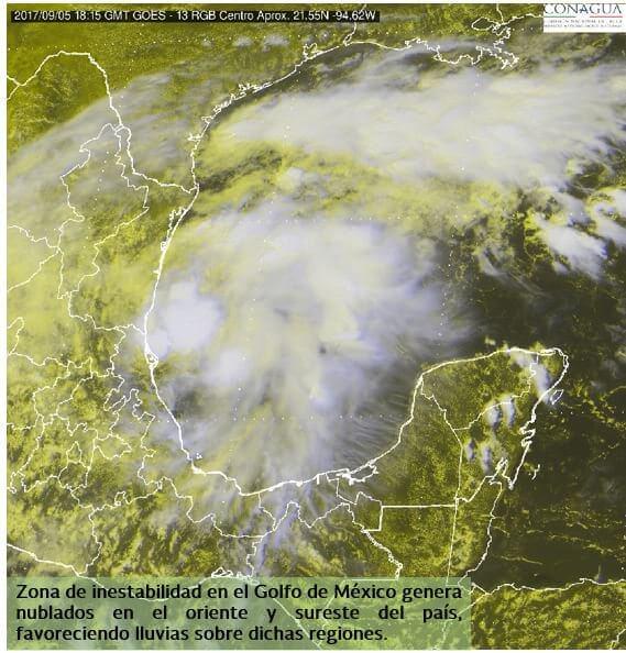 El cambio climático y las lluvias en México