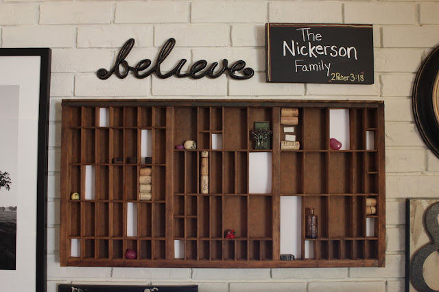 Turn a wood sign into wall art