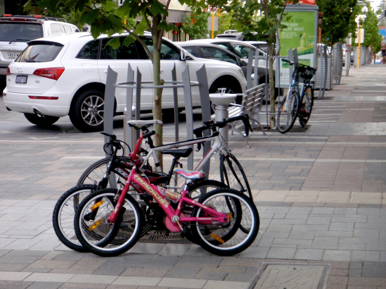 Town of Claremont Shared Space Bicycle Parking