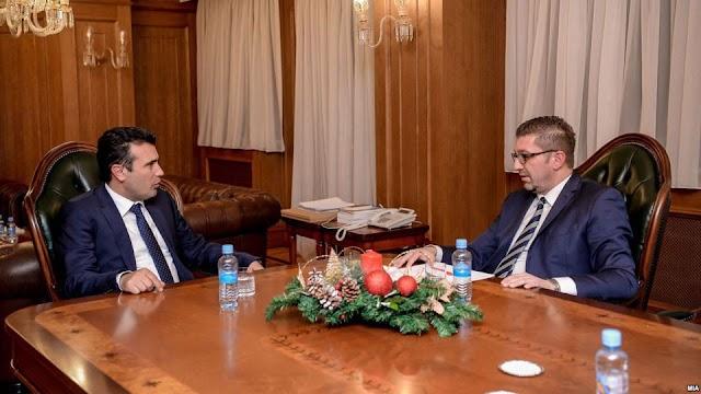 Mazedonien: TV Duell zwischen Premierminister und Oppositionsführer