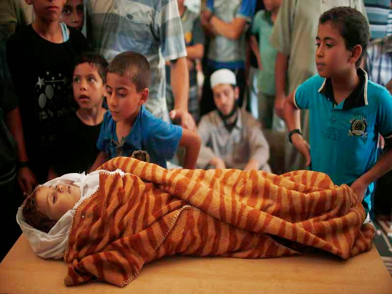 Foto Korban Serangan Israel Ke Jalur Gaza Palestina 2014