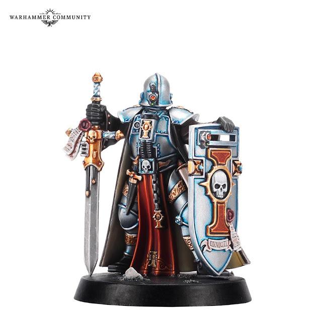 Caballero Cruzado Inquisición 40k
