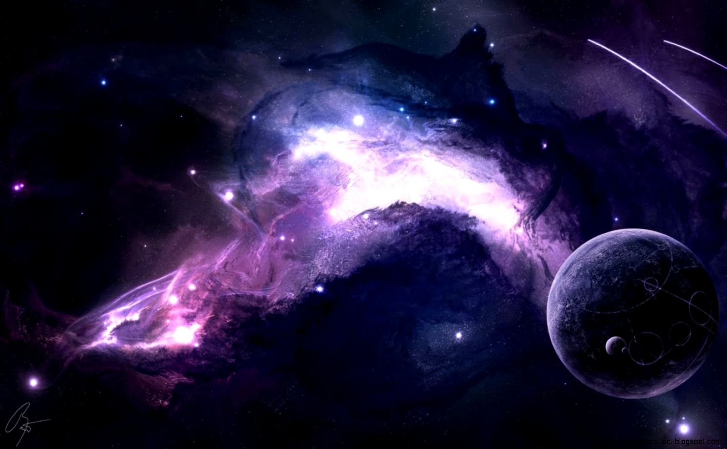 Download 3d space wallpaper hd wallpapers collection - Abstract space wallpaper ...