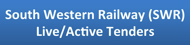 South Western Railway (SWR) Live/Active Tenders