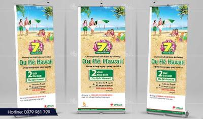 thiết kế standee quảng cáo