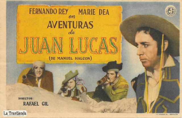 Aventuras de Juan Lucas - Programa de Cine (Horiz.) - Fernando Rey - Marie Déa