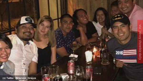 Movie in the works? Bea Alonzo and Gerald Anderson were spotted with Direk Dan VIllegas