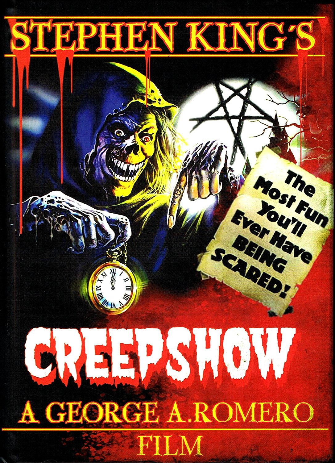 the horrors of halloween creepshow 1982 artwork posters