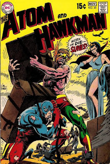 cover of the Atom and Hawkman #45 (1969). Property of DC comics.