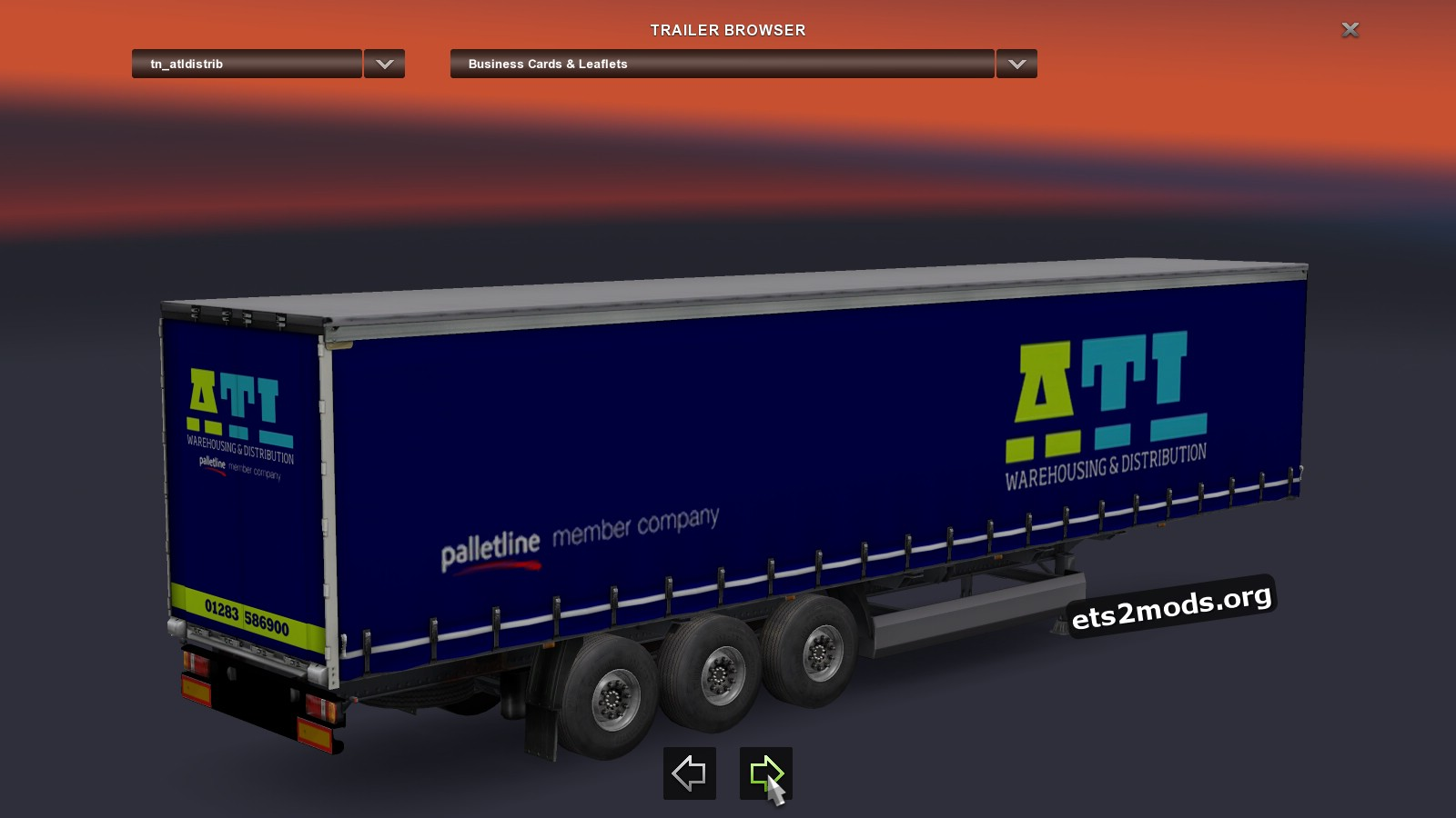 Trailers pack V2.10 by Chris45