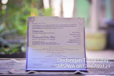 Cetak undangan online di Tangerang