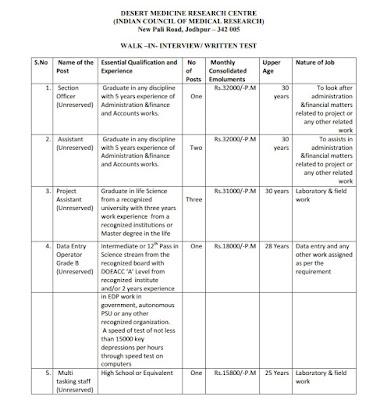 DMRC 08 Assistant, Data Entry Operator Grade, Multi tasking staff Recruitment 2017 www.dmrcjodhpur.nic.in Apply Now