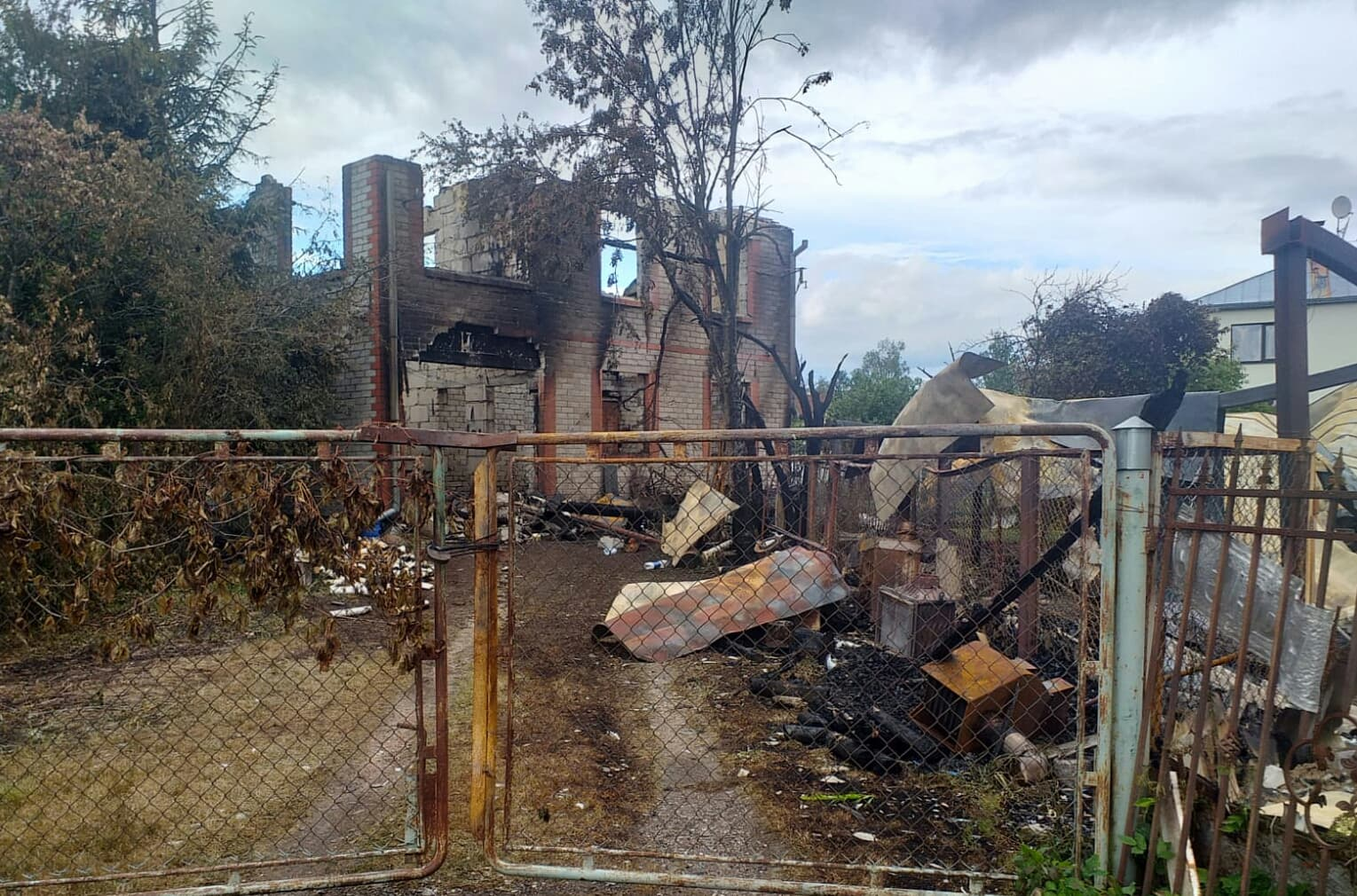 Ugunsgrēks noposta dzīvojamo māju Olaines novadā