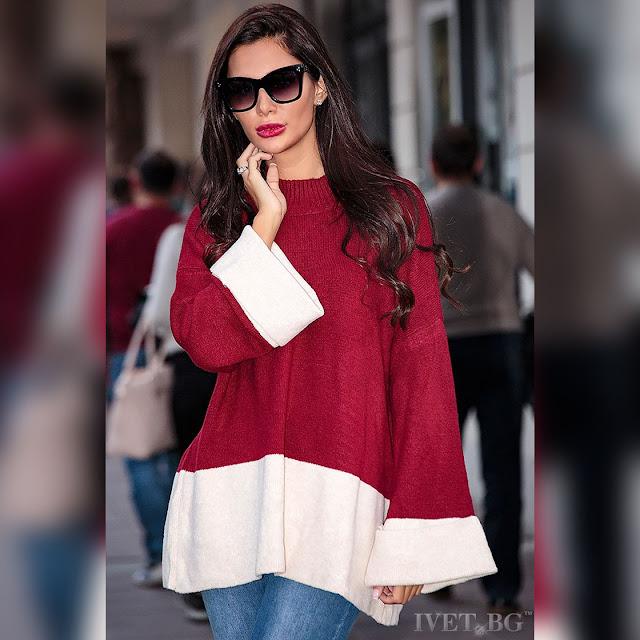 Μοντέρνα  γυναικεία μπλούζα IDONIA