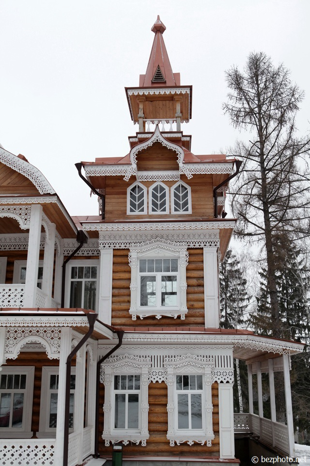 русский стиль в архитектуре фото